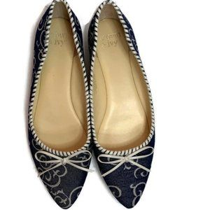 Crown & Ivy Elena Pointed Toe Flats Ballet Shoes